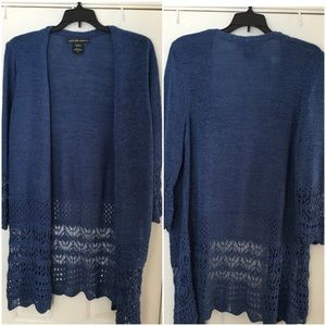 Super Cute Open Front Sweater by United States